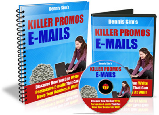 Product picture Killer Promo E-mails MRR